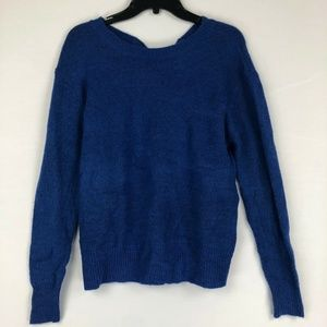 Halogen Bow Back Sweater M